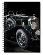 Vintage Bentley 4.5 Liter Le Mans Spiral Notebook