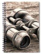 Vintage Binoculars Spiral Notebook