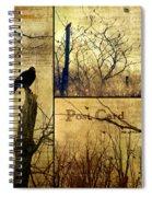 Vintage Birds Collage Spiral Notebook