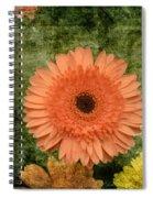 Vintage Blooms Spiral Notebook