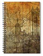 Vintage Brooklyn Bridge  Spiral Notebook