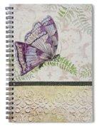 Vintage Butterfly-jp2568 Spiral Notebook
