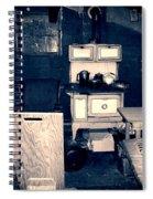 Vintage Cabin Interior Spiral Notebook