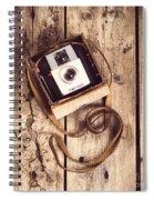 Vintage Camera Spiral Notebook