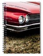 Vintage Car 2  Spiral Notebook
