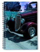 Vintage Ford Car Art II Spiral Notebook