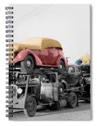 Vintage Car Carrier Spiral Notebook