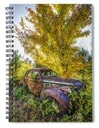 Vintage Car Spiral Notebook