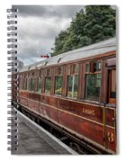 Vintage Carriages Spiral Notebook