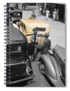 Vintage Checker Cabs Spiral Notebook