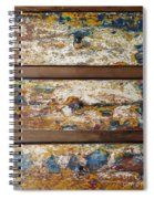 Vintage Chest Of  Drawers Spiral Notebook