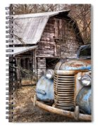 Vintage Chevrolet Spiral Notebook
