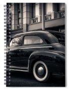 Vintage Chevrolet In 1934 New York City Spiral Notebook