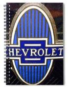Vintage Chevrolet Logo Spiral Notebook
