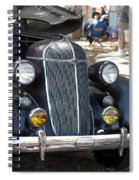 Vintage Chrysler Automobile Poster Look IIi Usa Spiral Notebook