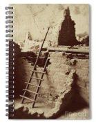 Vintage Cliff Dwelling Spiral Notebook