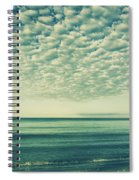 Vintage Clouds Spiral Notebook
