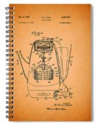 Vintage Coffee Maker Patent 1958 Spiral Notebook