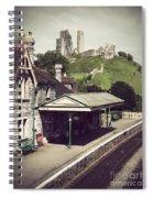 Vintage Corfe Castle Spiral Notebook