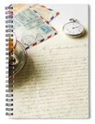 Vintage Correspondence Spiral Notebook