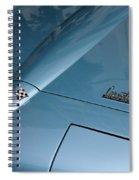 Vintage Corvette 6 Spiral Notebook
