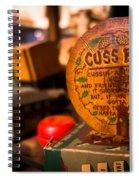 Vintage Cuss Box Spiral Notebook