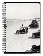 Vintage Daytona Beach Florida Spiral Notebook