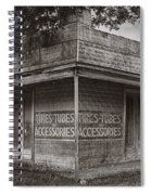 Vintage D'hanis Texas Business Spiral Notebook