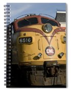 Vintage Diesel Locomotive Spiral Notebook