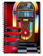 Vintage Diner Spiral Notebook