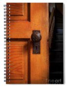 Vintage Door And Stairs Spiral Notebook