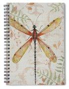 Vintage Dragonfly-jp2563 Spiral Notebook