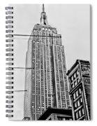 Vintage Empire State Building Spiral Notebook