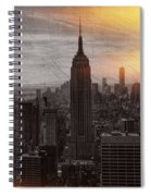 Vintage Empire State Building Spiral Notebook