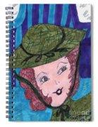 Vintage Fifties Spiral Notebook