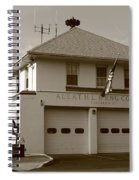 Congers, New York - Vintage Firehouse Spiral Notebook