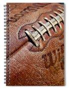 Vintage Football Spiral Notebook