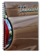 Vintage Ford Thunderbird Spiral Notebook