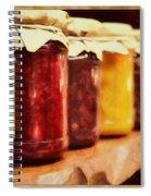 Vintage Fruit And Vegetable Preserves I Spiral Notebook