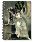 Vintage Garden Nymph Spiral Notebook