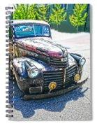 Vintage Gm Truck Frontal Hdr Spiral Notebook