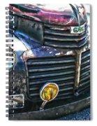 Vintage Gm Truck Hdr 2 Grill Art Spiral Notebook