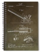 Vintage Hammer Patent Spiral Notebook