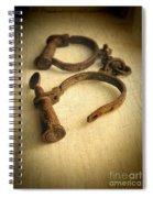 Vintage Handcuffs Spiral Notebook