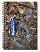 Vintage Harley With Nos Spiral Notebook