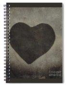 Vintage Heart Spiral Notebook