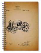 Vintage Henry Ford Tractor Patent Spiral Notebook