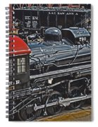 Vintage I C R R No. 790 Spiral Notebook