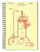 Vintage Internal Combustion Engine Patent 1940 Spiral Notebook