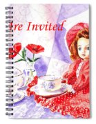 Vintage Invitation Spiral Notebook